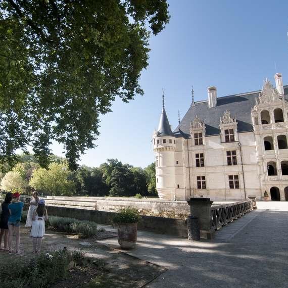 Château d'Azay-le-Rideau.