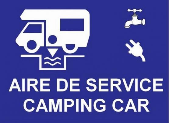 AIRE COMMUNALE DE SERVICES CAMPING-CARS - ETANG COMMUNAL