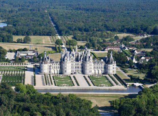 Chateau de chambord- la maugerie ulm- bapteme - autogire 2