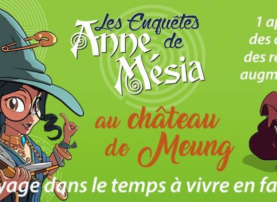 LES ENQUETES D'ANNE MESIA AU CHATEAU DE MEUNG SUR LOIRE