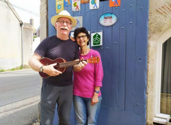 Maurice et Marcela Les Salamandres à Montlivault