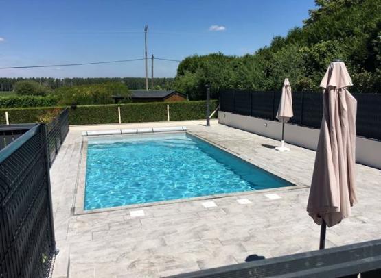piscine chauffée @valeriehautreux