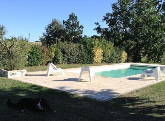 Chambre d'hotes la chouette- anjou- maine et loire- 49- piscine