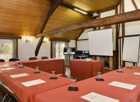 HOTEL RESTAURANT MANOIR DE LA GIRAUDIERE CHINON SALLE REUNION POUR  SEMINAIRE