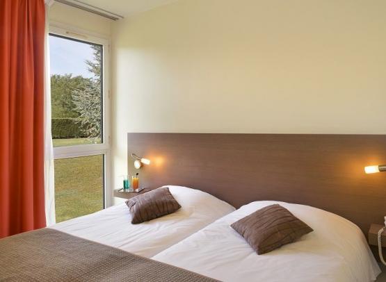 Chambre twin-hotel luccotel-loches-valdeloire