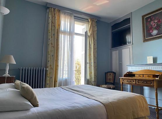 hôtel-Rabelais-Tours-chambre-double