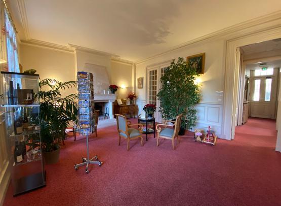 hôtel-Rabelais-Tours-Entrée-salon
