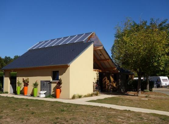 Camping le Jardin de Sully _ Sanitaires