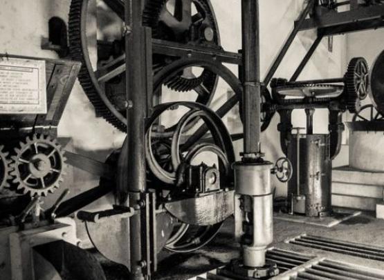 Mécanisme du Moulin de Marnay - Détails - Musée Maurice Dufresne