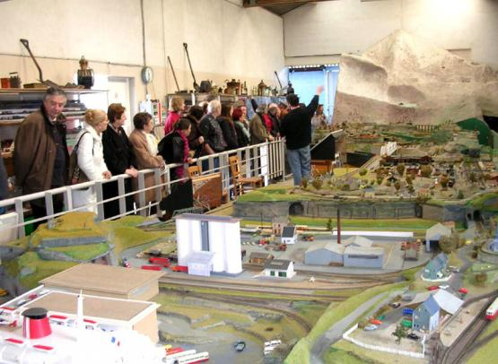 LA PETITE FRANCE - MUSEE ANIME DE TRAINS MINIATURES