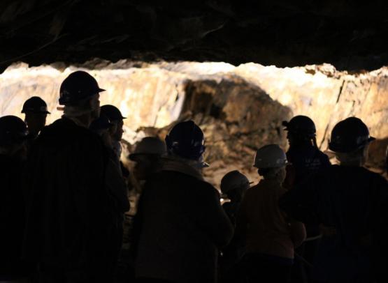 La Mine bleue - Visite guidée à 126 mètres sous terre
