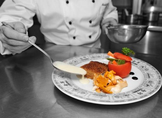 Filet d'Esturgon en croûte de sésame