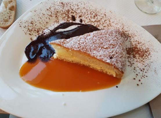 dessert de la crêperie Côté Jardin Saumur