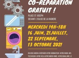 ateliers de co-réparation gratuit !