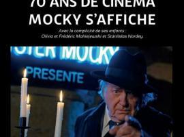 Exposition : 70 ans de cinéma Mocky s'affiche