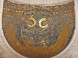 eglise de la sainte trinite arche benie par la main de dieu
