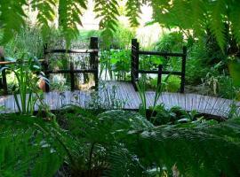 Sucé- Jardin plage verte 3 ponton mare