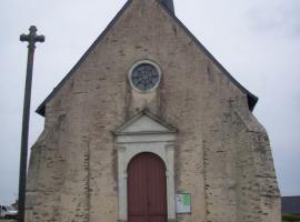 Façade église de Saint Aubin